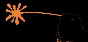 Darstellung der Sprühart Pfeffergel